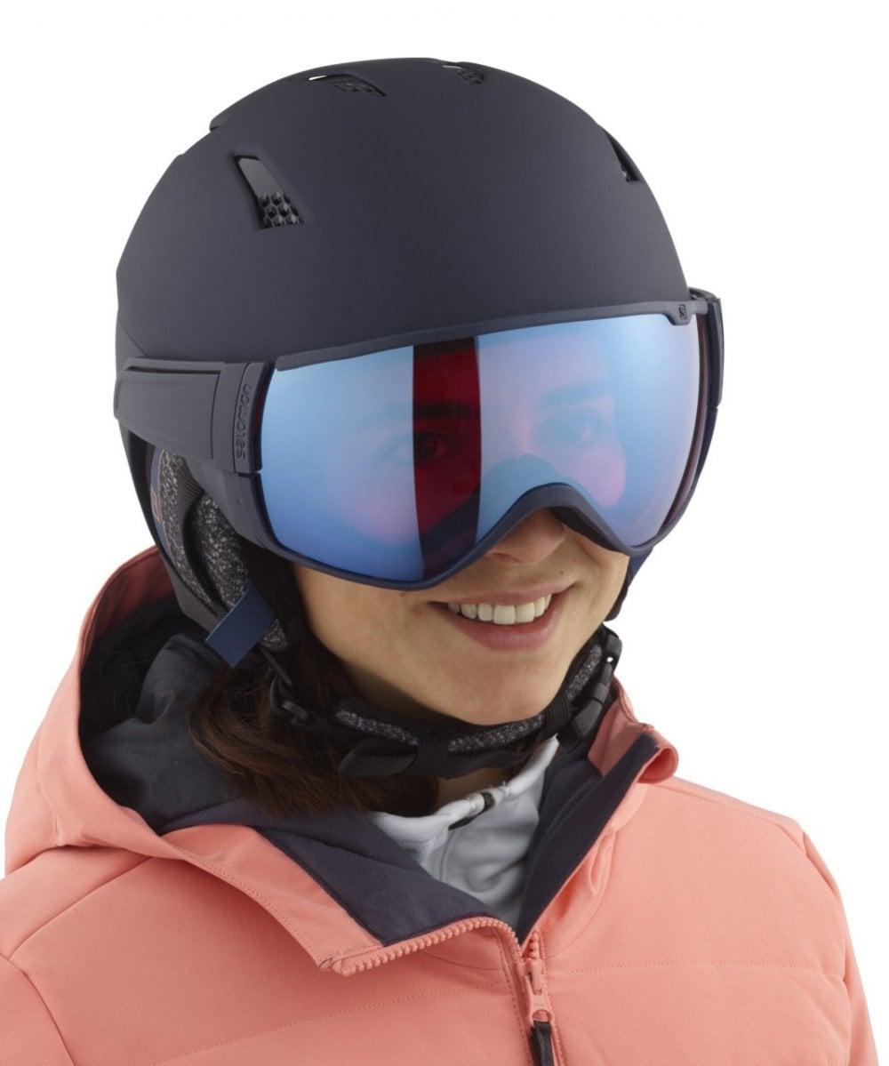 milla nautica malta Leonardoda  Salomon Mirage CA Sigma Visor Ski Helmet 20/21 - Ski from Sail and Ski Ltd  UK