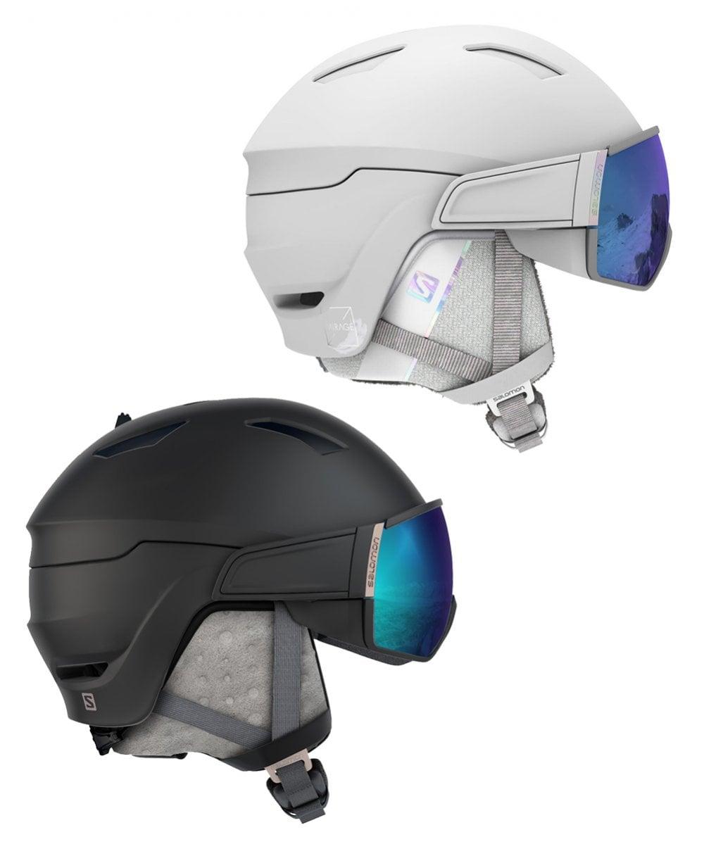 Adición blanco como la nieve Por ahí  Salomon Mirage Single Visor Ski Helmet 20/21 - Ski from Sail and Ski Ltd UK