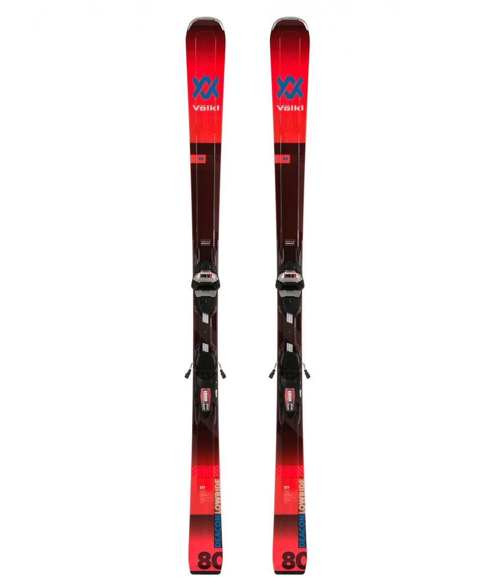 Volkl Deacon 80 Skis + LowRide XL 13 Bindings 19/20